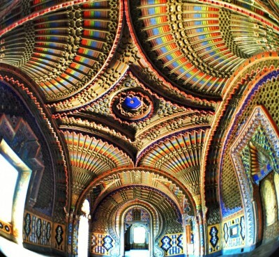 The Castle of Sammezzano in Tuscany