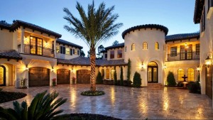 Mediterranean style large home