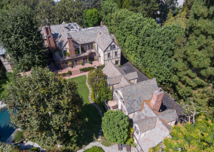 Old Hollywood Home Listed: $40M Once owned by Harry Warner
