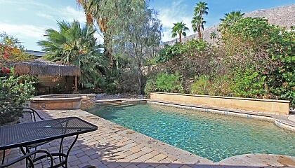 Tuscan style swimming pool in palm springs arie abekasis - Palm springs swimming pool contractors ...