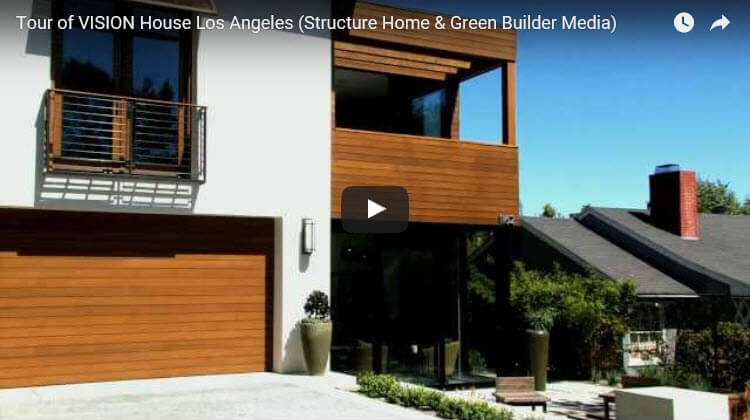 Tour of vision luxury house in los angeles video arie for Vision homes